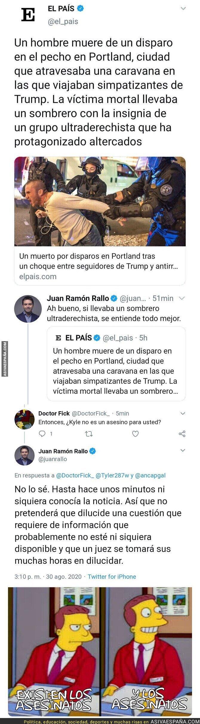 346998 - Juan Ramón Rallo necesita su tiempo para juzgar un asesinato