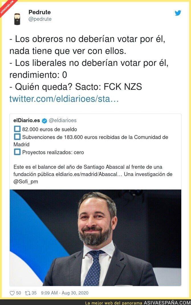347918 - Los votantes que Santiago Abascal tiene asegurados