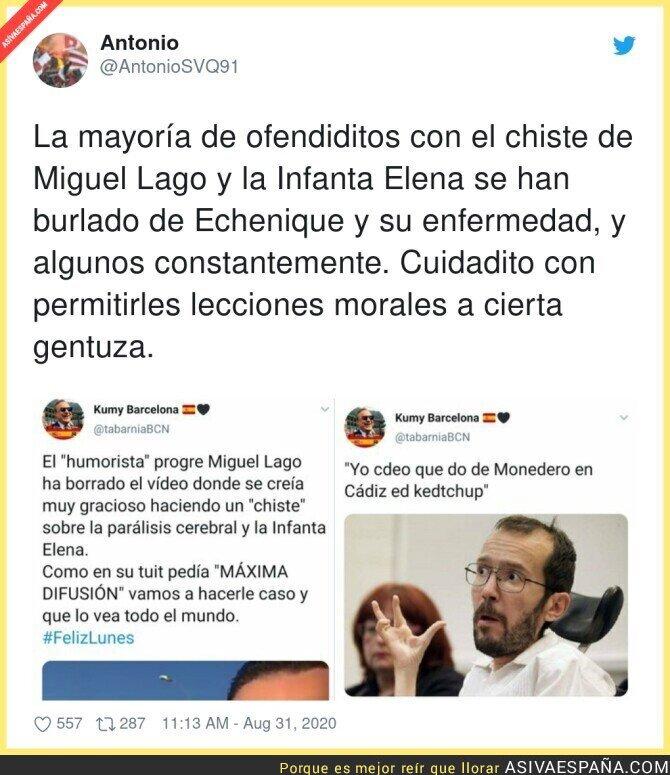 348171 - Los patriotas españoles son quienes menos ejemplo deben dar por burlarse de la gente con humor negro