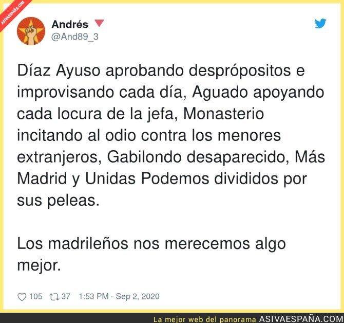 351203 - Es injusto lo que está pasando en Madrid