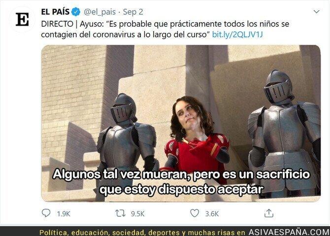 353156 - Isabel Díaz Ayuso anates del inicio del curso escolar