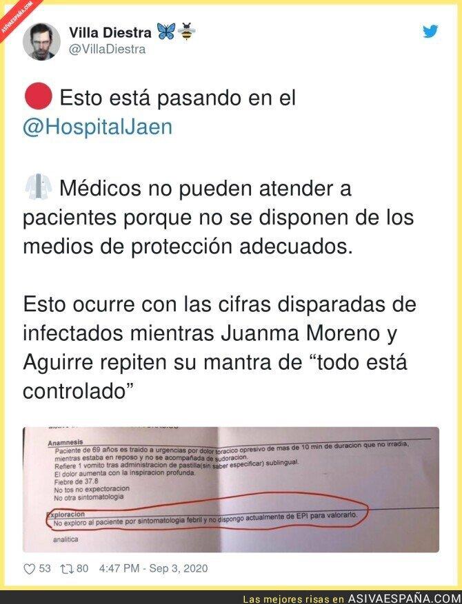 353977 - Gracias a la anticipación del gobierno trifachito andaluz
