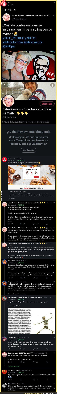 354038 - KFC España le acaba de pegar un revés monumental al youtuber 'Dalas' tras preguntarle si se inspiraron en él para su imagen
