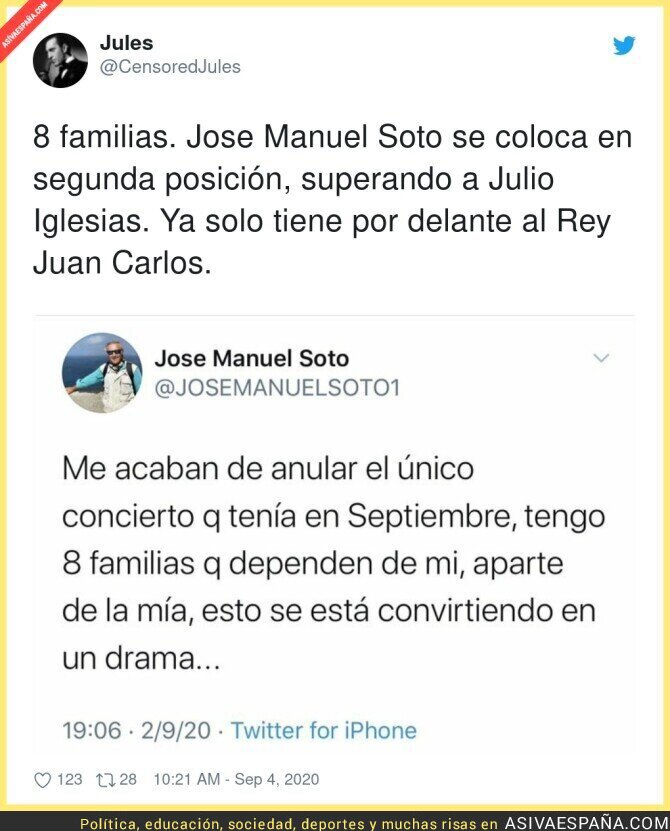 354180 - El drama de José Manuel Soto