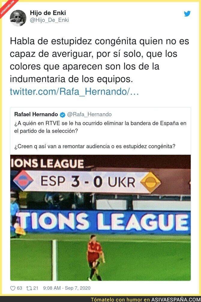 357809 - Este es el nivel de Rafa Hernando