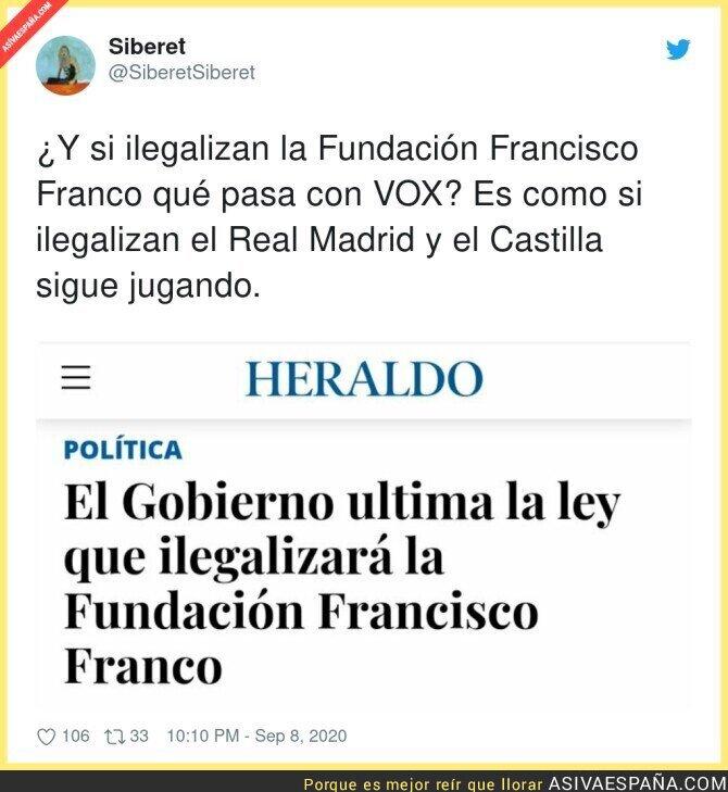 360456 - Se viene el golpe definitivo a la Fundación Francisco Franco