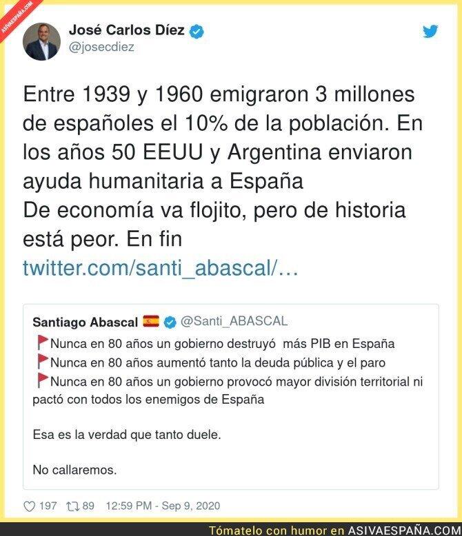 361499 - La infinita ignorancia de Santiago Abascal