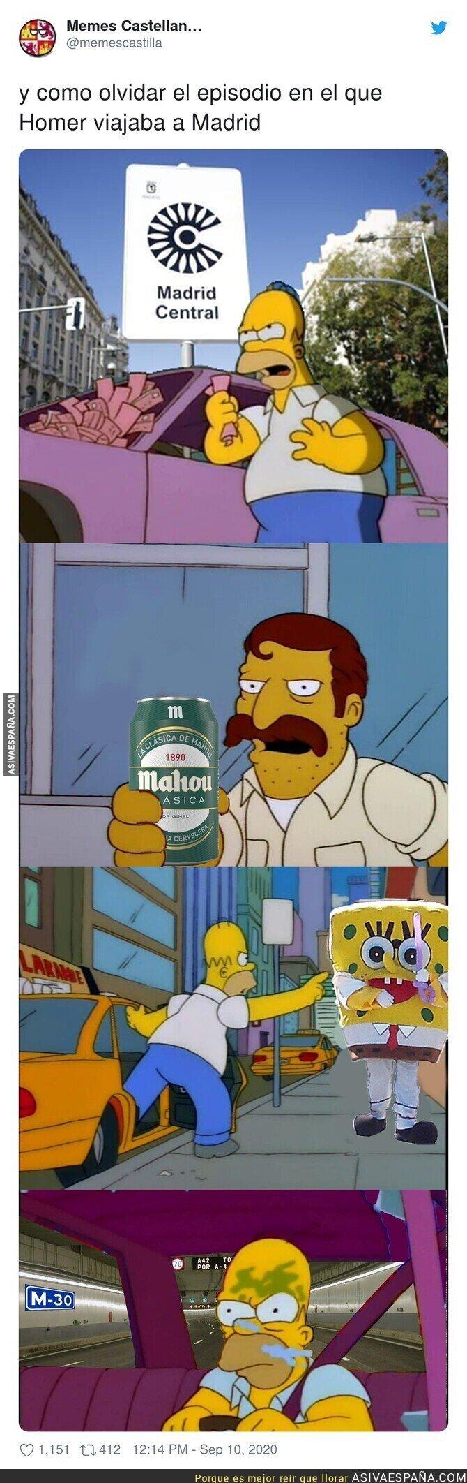362948 - Homer y su visita a Madrid