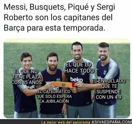 365955 - Los capitanes del Barça