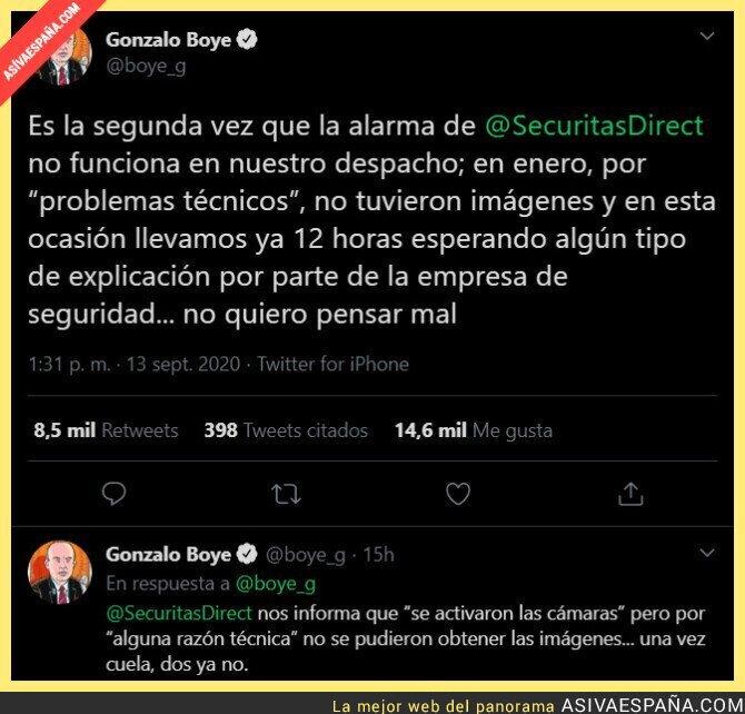 366601 - SecuritasDirect se la juega al abogado de Puigdemont