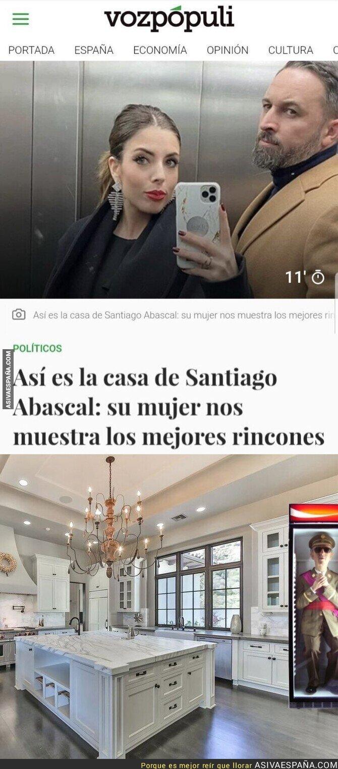 368594 - Que bonito el interior de la casa de Santiago abascal