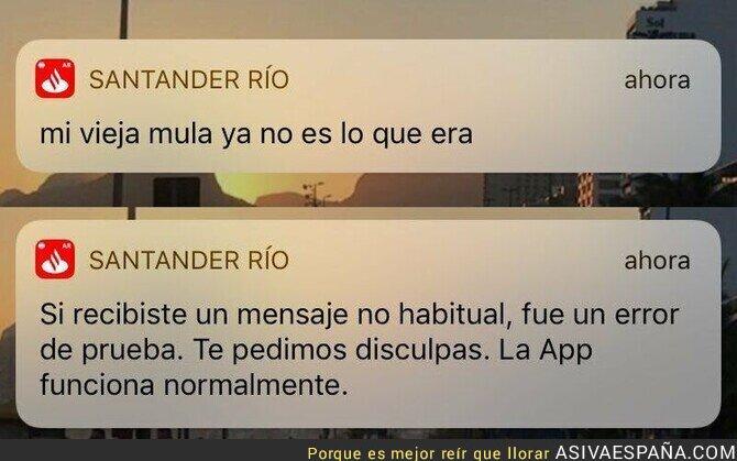 368703 - El Banco Santander está confuso