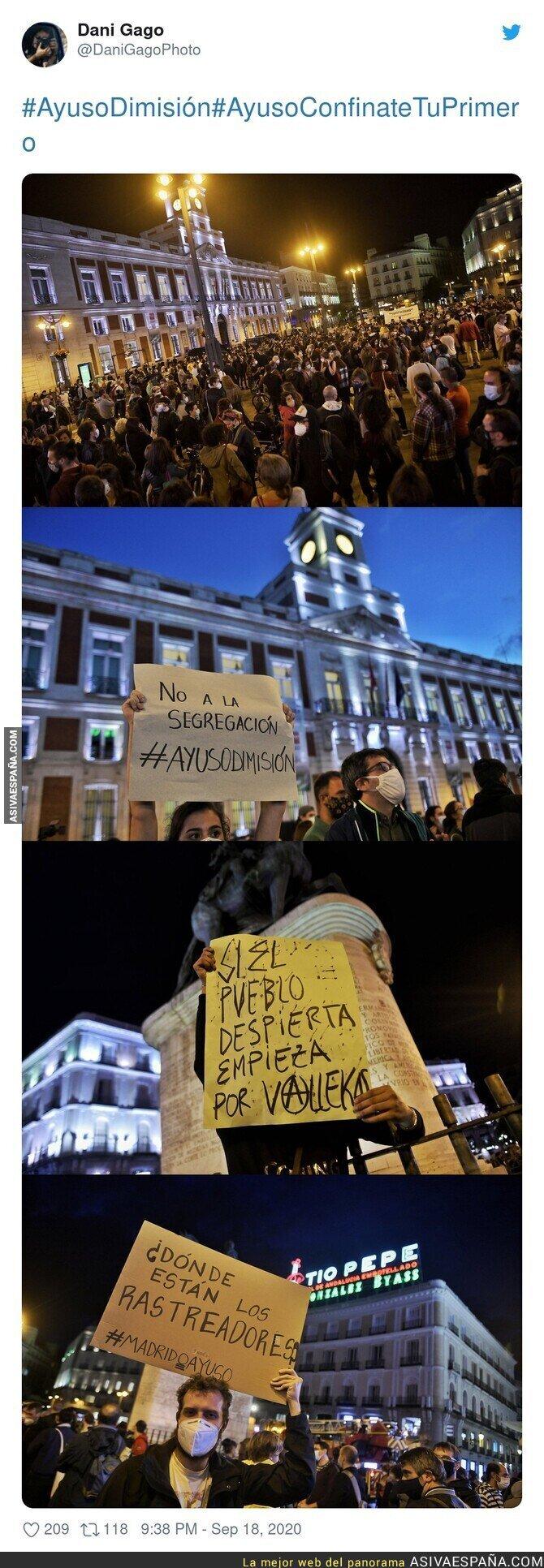 373896 - Así se ha manifestado Madrid contra las restricciones