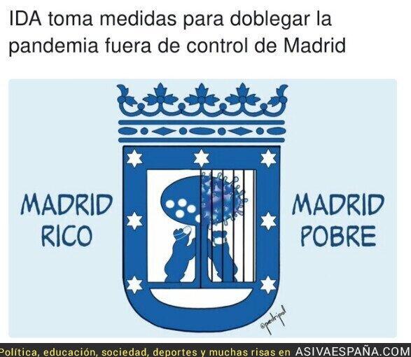 374517 - En el Madrid rico hay virus igual, lo que no hay son rejas