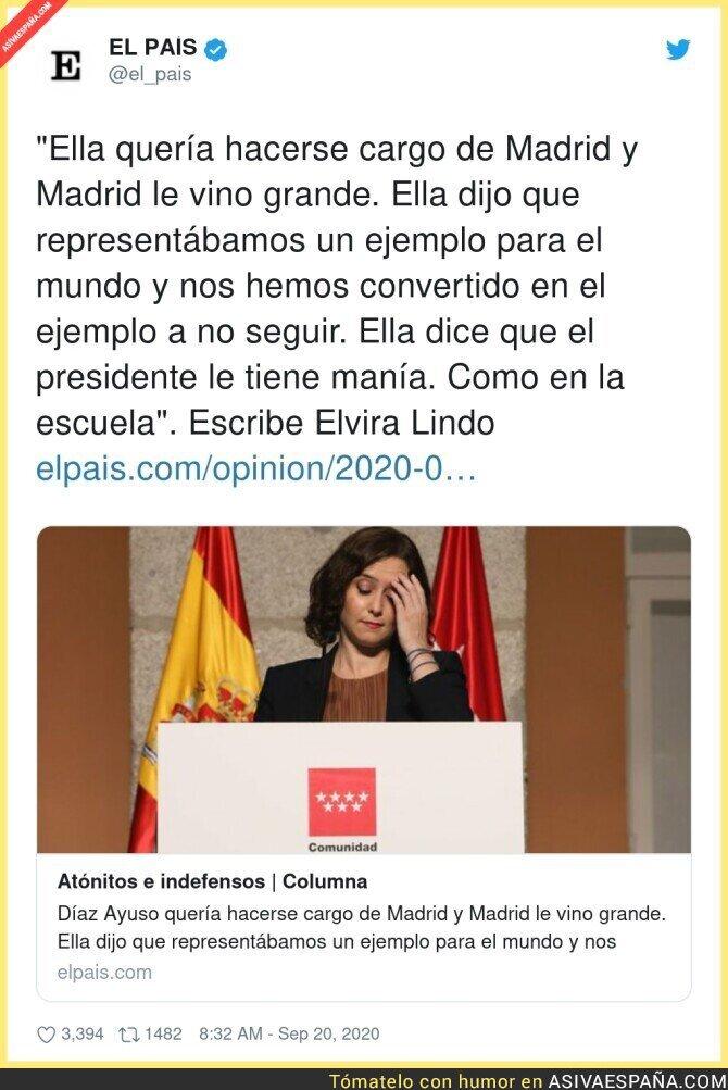375906 - Isabel Díaz Ayuso no es ejemplo de nada