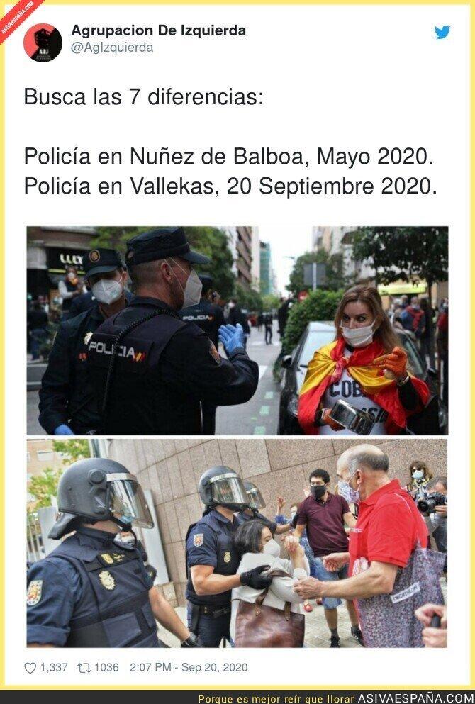 376616 - La Policía y su forma de actuar según el barrio