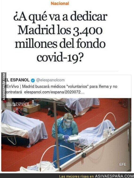 377403 - Hay millones pero no para médicos