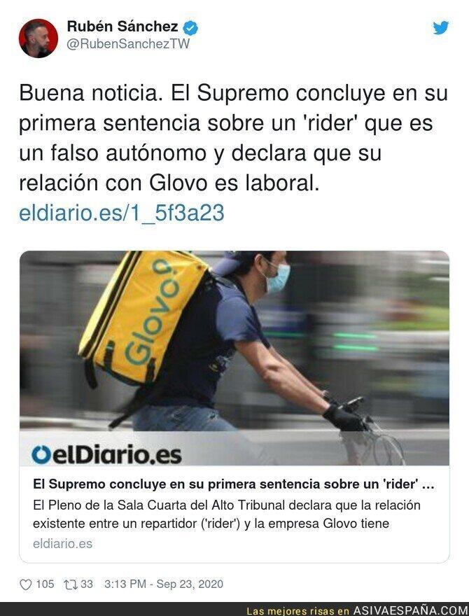 380865 - Los riders son falsos autónomos