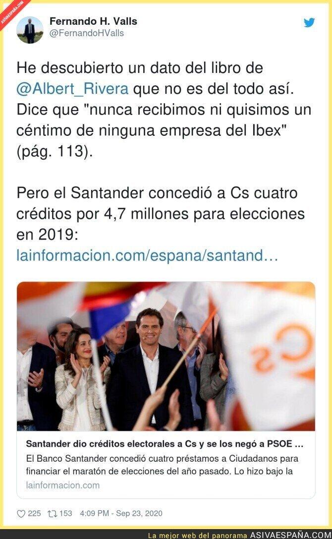 381185 - Los favores del Santander a Ciudadanos