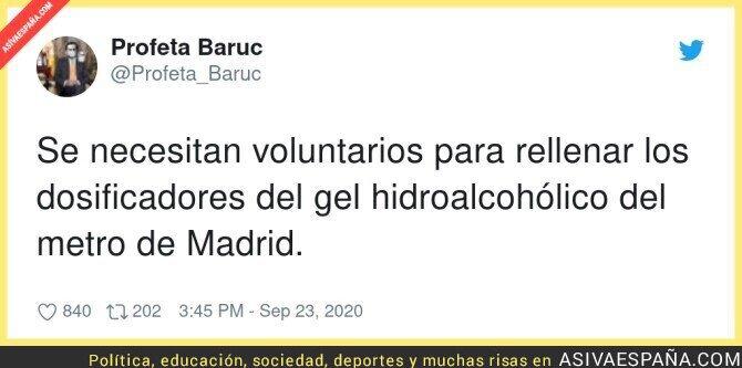 381407 - Una nueva profesión en Madrid