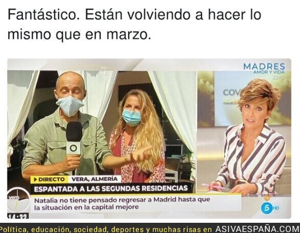 382336 - La espantada de los madrileños para infestar al resto de españoles