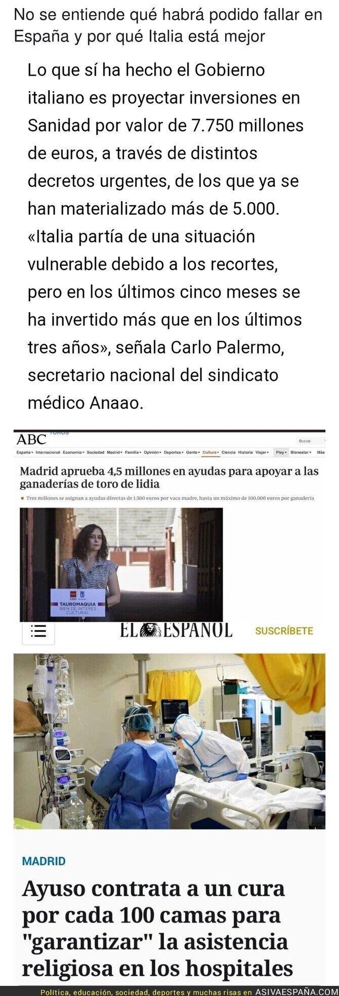 387528 - El esperpento de Madrid para luchar contra el coronavirus