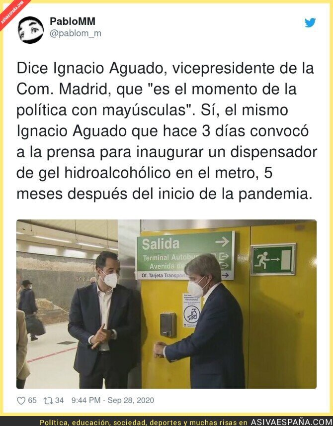 389754 - Es de chiste el señor Ignacio Aguado