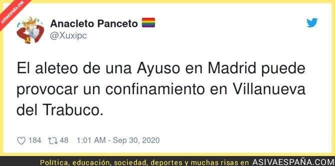 391652 - Resumen del acuerdo de Ayuso con el Gobierno de España