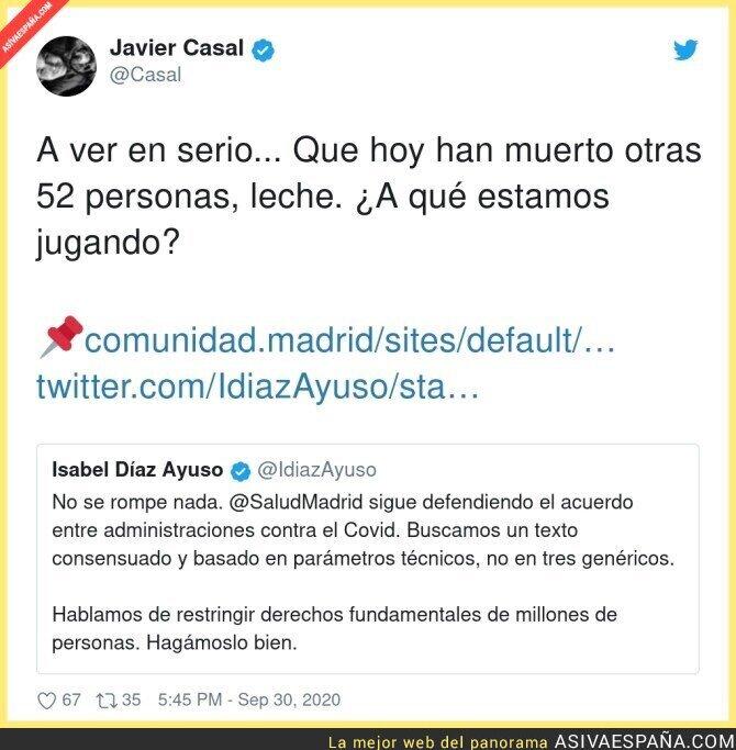 392391 - Isabel Díaz Ayuso es un peligro público