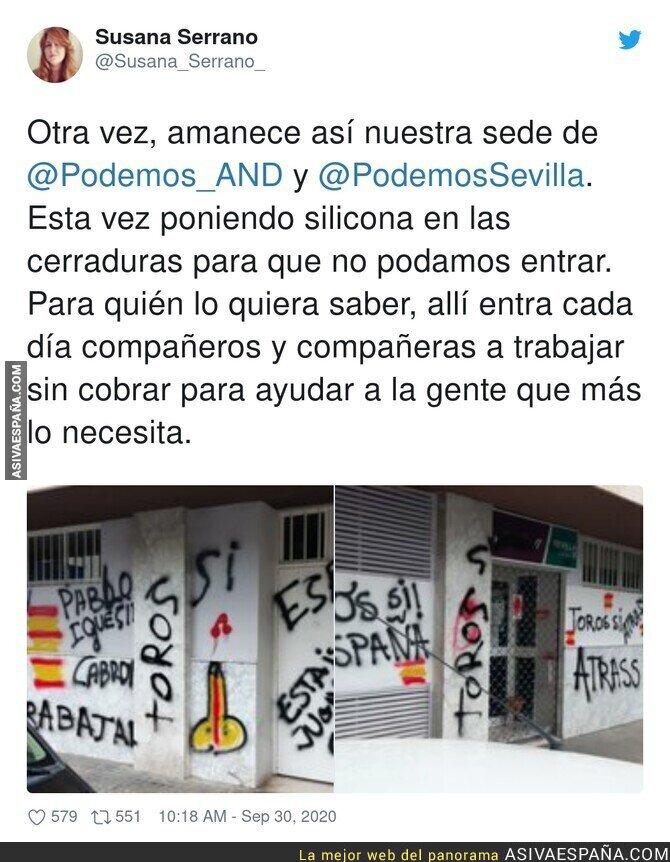 392530 - Terrorismo callejero contra Podemos