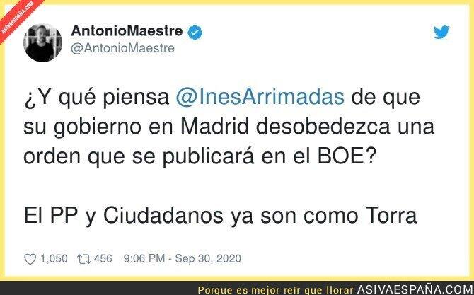 392727 - PP y Ciudadanos = Golpistas