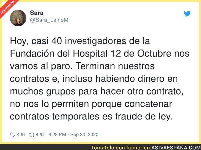 393687 - Así se trata a los investigadores en España