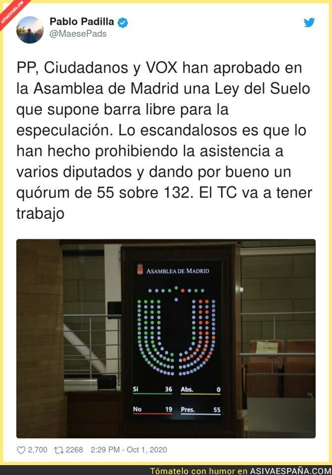 394723 - El escándalo que ha ocurrido en la Asamblea de Madrid