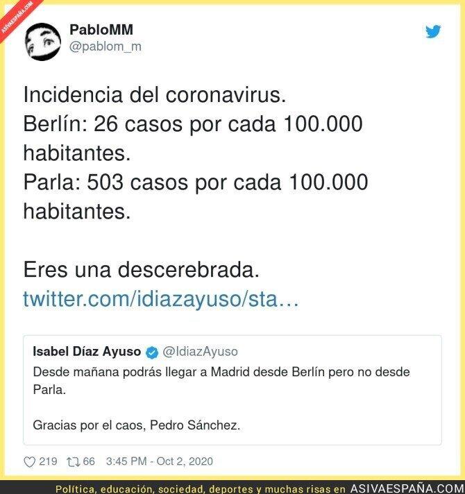 395619 - Isabel Díaz Ayuso está fatal