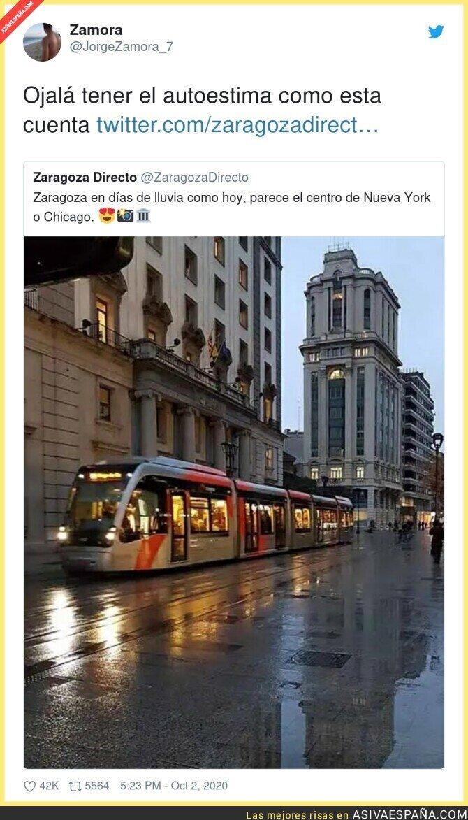 396784 - Si no llega a decir que es Zaragoza pensaría que es la Quinta Avenida