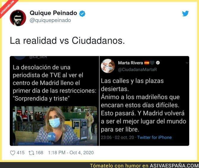 398004 - Tremenda situación en las calles de Madrid