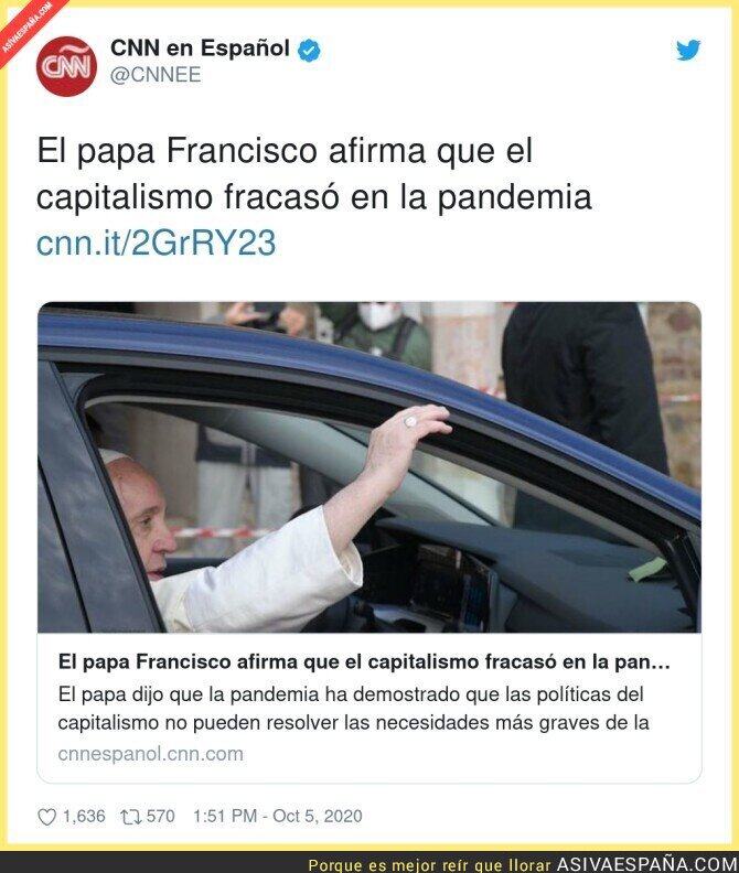 399654 - Más capitalista que El Vaticano no existe otro