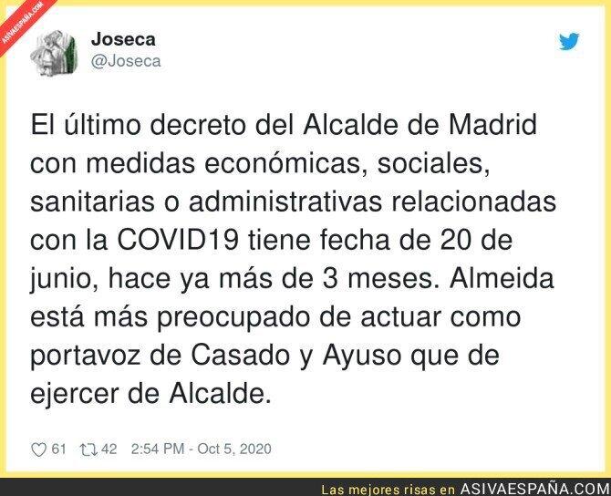 399728 - A José Luis Martínez Almeida ni está ni se le espera