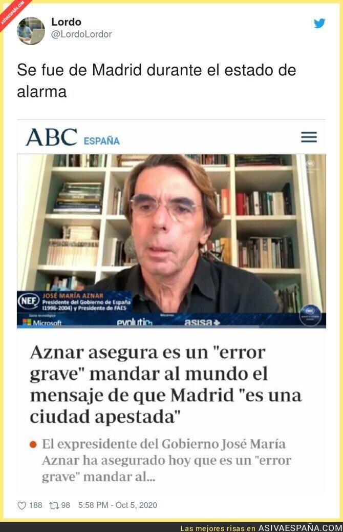 399846 - José María Aznar es el menos indicado para hablar