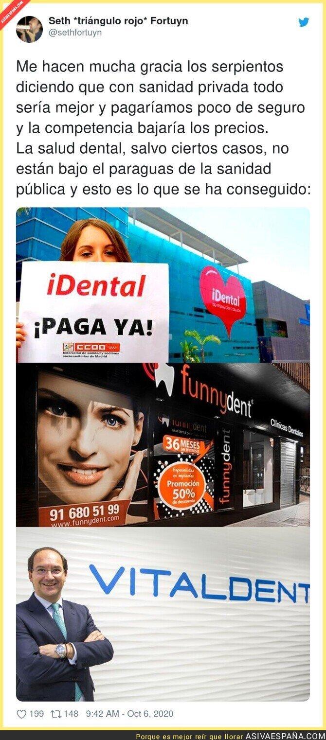 400506 - Las estafas dentales son el mejor ejemplo