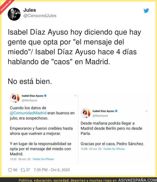 401224 - Isabel Díaz Ayuso es bipolar