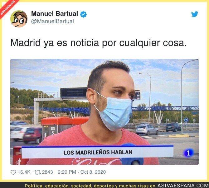 406072 - Cualquier cosa sirve para hablar de Madrid