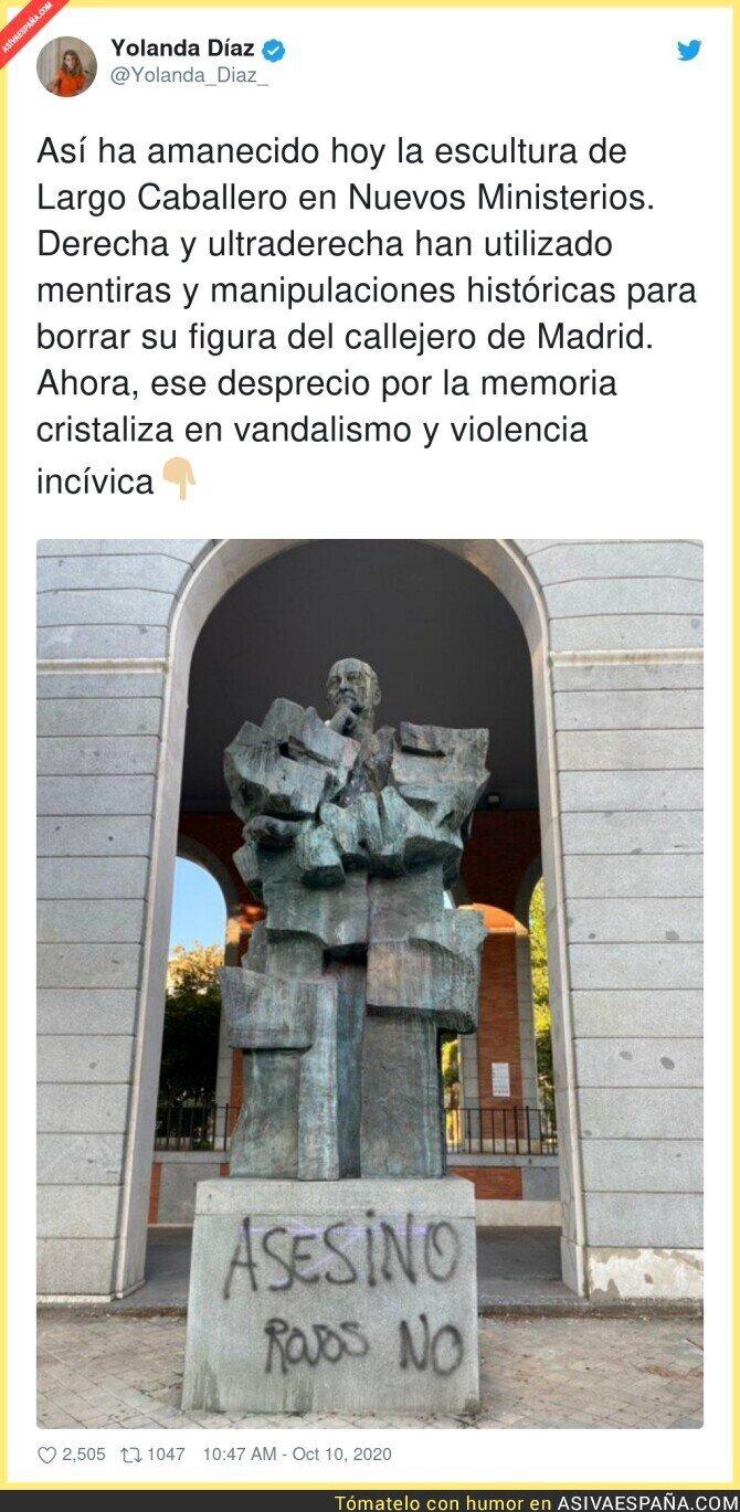 407884 - Lamentable el vandalismo que hay por Madrid por culpa de la ultraderecha