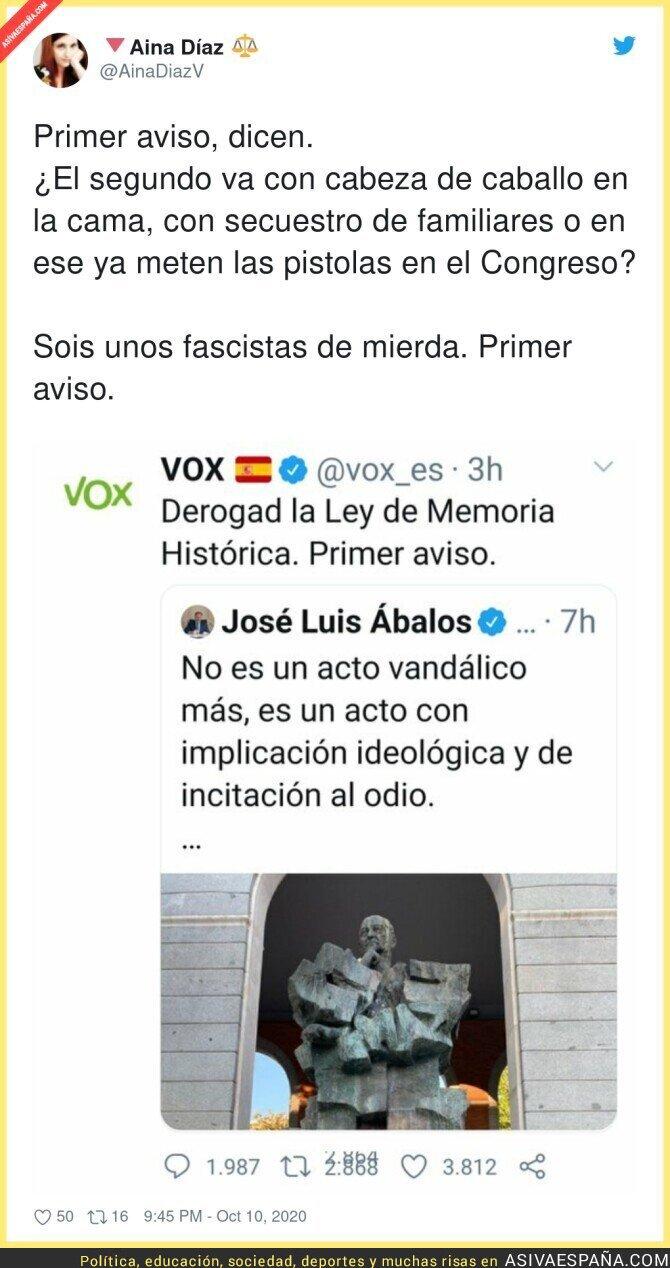 408699 - El fascismo de VOX no se esconde