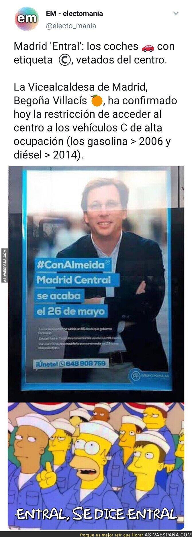 411411 - El nuevo Madrid Central de Almeida