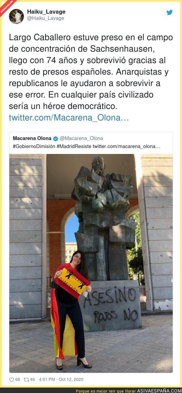 412672 - El vandalismo de Macarena Olona