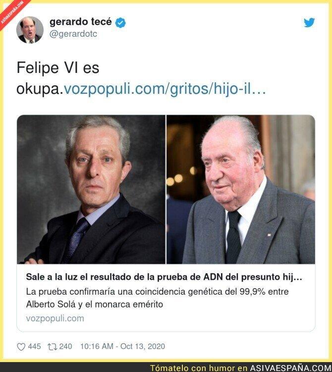 412936 - El Rey de España debería ser otro