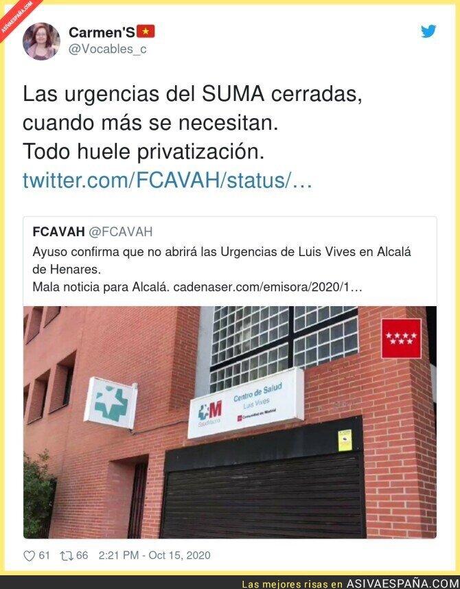 416362 - Desastre monumental en la sanidad de Madrid