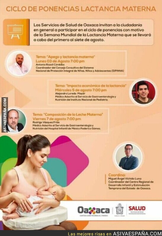 421712 - Cuatro hombres hablando de lactancia materna