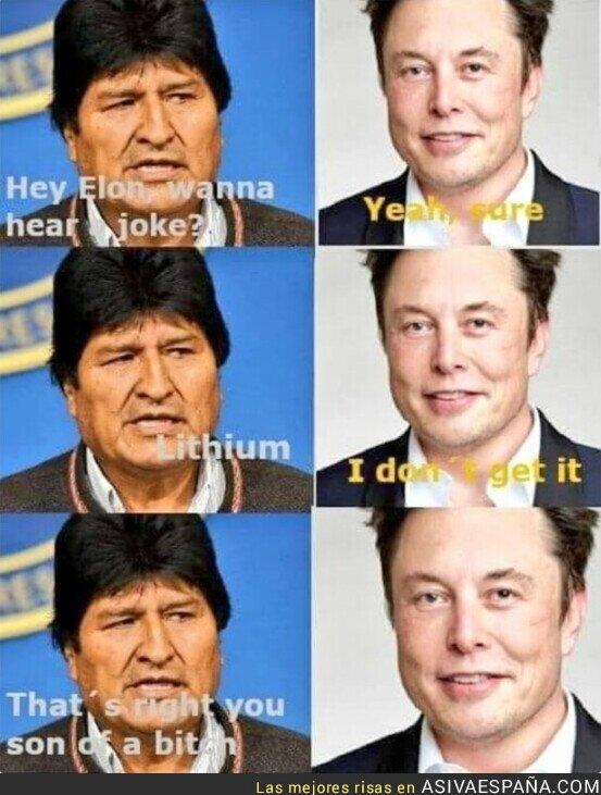 427851 - Los intereses de Elon Musk en Bolivia